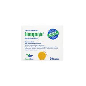 بیومگنلیت منیزیم سیترات ساج پاد دارو 20 ساشه رفع خستگی و گرفتگی عضلات و تقویت میزان متابولیسم بدن