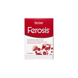 سافت ژل فروسیس ویواتون 30 عدد پیشگیری از کم خونی و رفع احساس خستگی