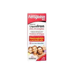 شربت فروگلوبین ب12 جنتل لیکویید ایرون ویتابیوتیکس 200 میلی لیتر جلوگیری از ایجاد کم خونی