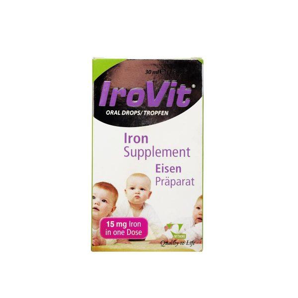 قطره آهن آیرویت ویتان 30 میلی لیتر پیشگیری از کم خونی کودکان