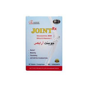 قرص جوینت آر ایکس انرکس ۳۶ عدد تسکین درد مفاصل و استخوان ها و کاهش اسپاسم های عضلانی