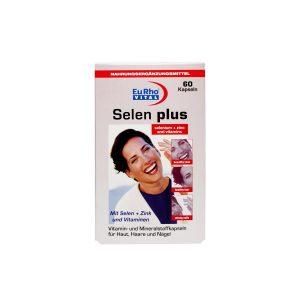 کپسول سلن پلاس یورو ویتال ۶۰ عدد تقویت سیستم ایمنی و بهبود سلامت سیستم قلب و عروق و آنتی اکسیدان