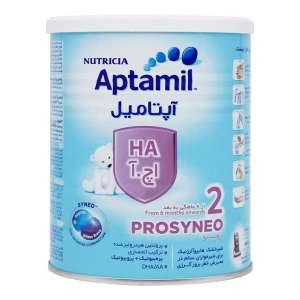 شیر خشک آپتامیل اچ آ 2 نوتریشیا 400 گرم شیرخشک ضدآلرژی برای بعد از 6 ماهگی