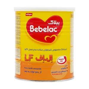 شیر خشک ببلاک ال اف میلوپا 400 گرم مناسب نوزادان مبتلا به عدم تحمل لاکتوز