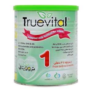 شیر خشک تروویتال 1 400 گرم شیرخشک برای کودکان از بدو تولد تا 6 ماهگی
