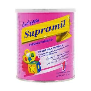 شیر خشک سوپرامیل 1 فاسکا 400 گرم شیرخشک مناسب از بدو تولد تا 6 ماهگی