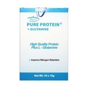 ساشه پیور پروتئین و گلوتامین کارن