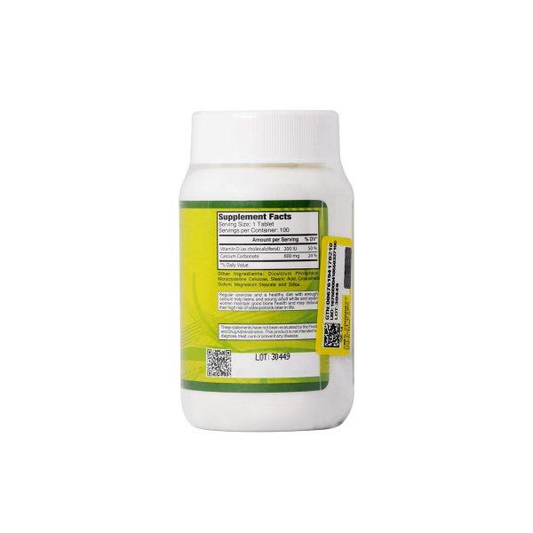 مکمل کلسیم 600 + ویتامین د آلفا