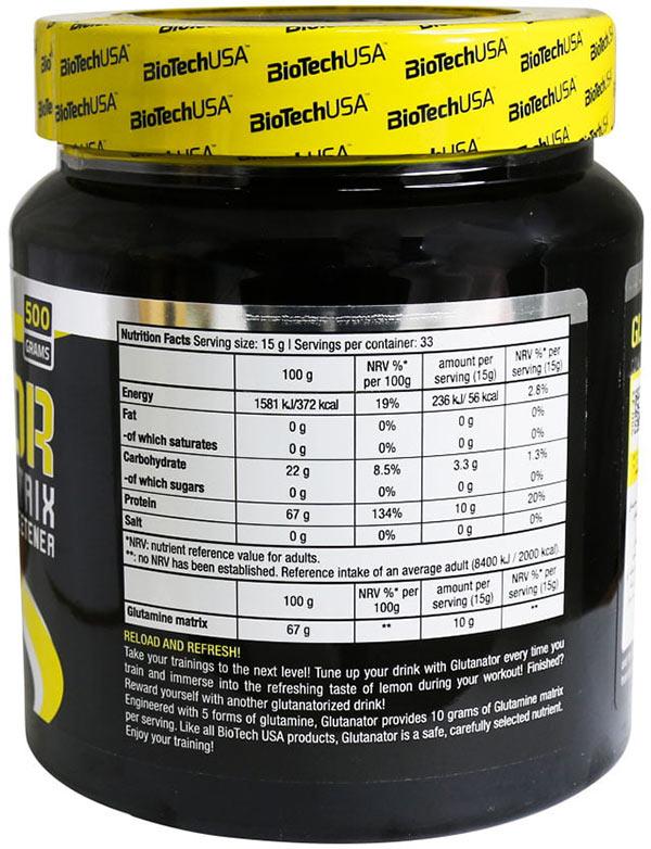 ترکیبات گلوتامین گلوتاناتور بایوتک یو اس ای
