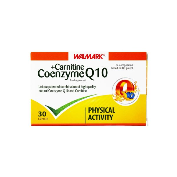 کپسول کوانزیم کیوتن و کارنیتین والمارک 30 عدد افزایش انرژی مورد نیاز بدن و توان فیزیکی