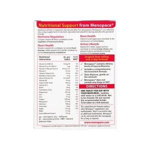 قرص منوپیس اورجینال ویتابیوتیکس | 30 عدد | بهبود علائم دوران یائسگی