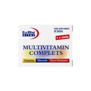 قرص مولتی ویتامین کامپلیت یورو ویتال 60 عدد