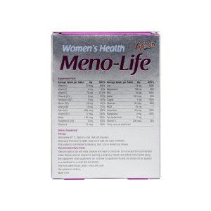 قرص منو لایف لایف آن | 30 عدد | مولتی ویتامین برای کمک به کاهش علائم یائسگی