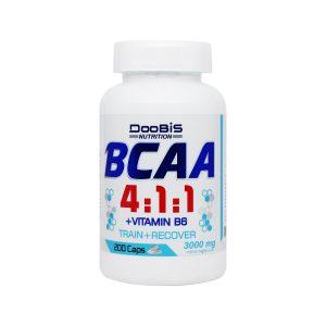 کپسول بی سی ای ای 411 و ویتامین B6 دوبیس 200 عدد