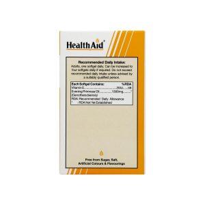 کپسول روغن گل مغربی هلث اید | 30 عدد | بهبود علائم دوران یائسگی و قاعدگی