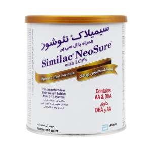شیر خشک سیمیلاک نئوشور ابوت 370 گرم مناسب برای نوزادان نارس و کم وزن