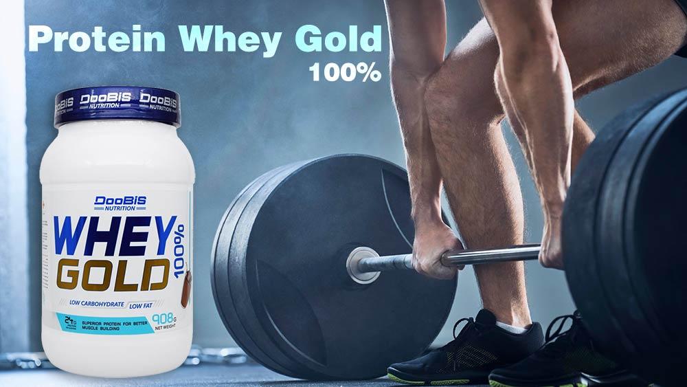 پروتئین وی گلد 100 درصد دوبیس