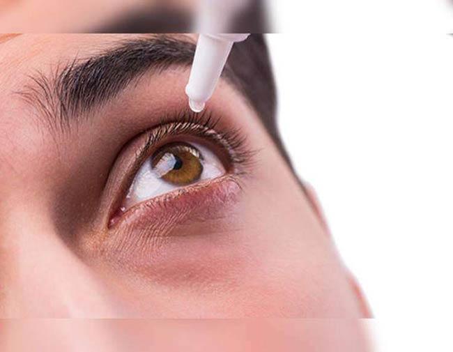 قطره استریل چشمی