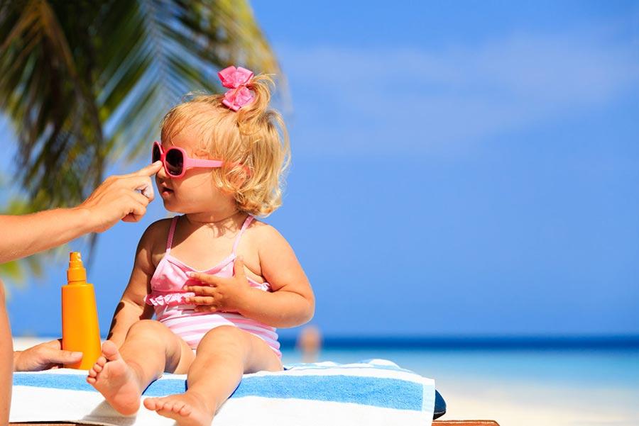 درمان آفتاب سوختگی