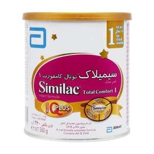 شیر خشک سیمیلاک توتال کامفورت 1 ابوت 360 گرم مناسب برای بدو تولد