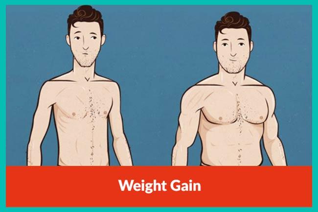 مکمل افزایش وزن و حجم