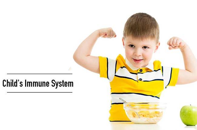مکمل تقویت سیستم ایمنی بچه