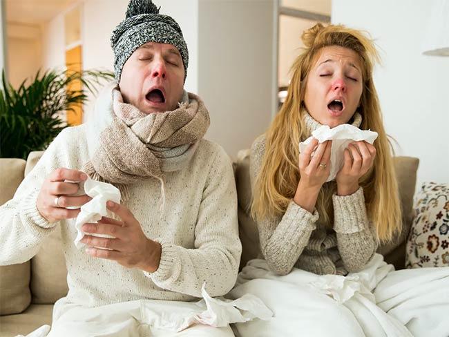 دلایل سرماخوردگی