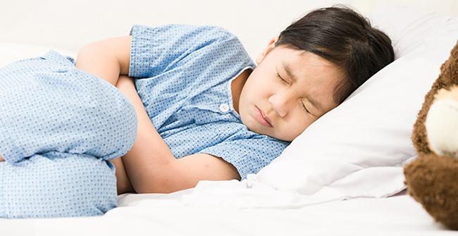 درمان دل درد بچه