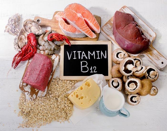 منابع تأمین ویتامین B12