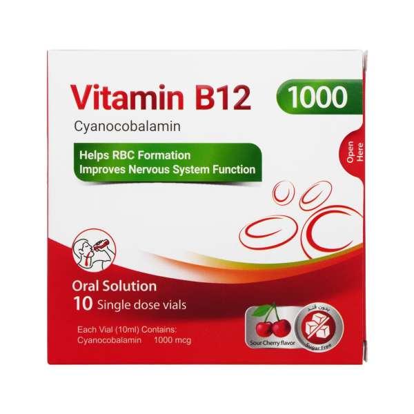 ویال ویتامین B12 پی بی جی فارما 10 عدد