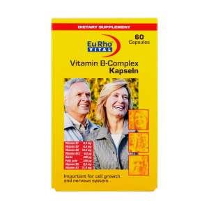 کپسول ویتامین ب کمپلکس یورو ویتال 60 عدد