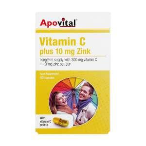کپسول ویتامین C و زینک آپوویتال 40 عدد