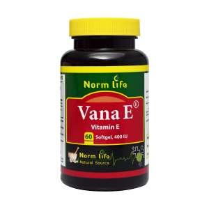 سافت ژل وانا ای ویتامین ای 400 نورم لایف 60 عدد
