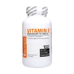 سافت ژل ویتامین ای 1000 برانسون