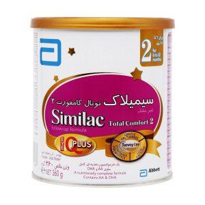 شیر خشک سیمیلاک توتال کامفورت 2 ابوت 360 گرم از 6 ماهگی به بعد