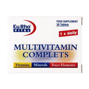 قرص مولتی ویتامین کامپلیت یورو ویتال 30 عدد