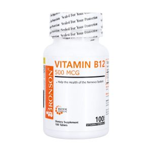 قرص ویتامین B12 برانسون 100 عدد