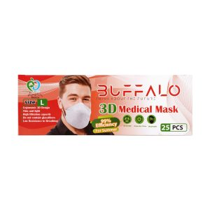 ماسک سه بعدی بوفالو 25 عدد