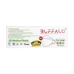 ماسک سه بعدی بوفالو   25 عدد   متناسب با فصل گرم