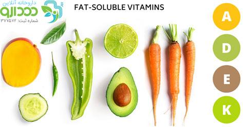 ویتامین محلول در چربی